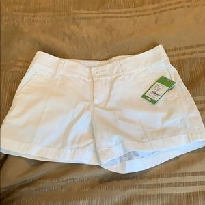 Lilly Pulitzer White Callahan Shorts